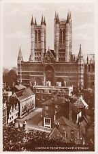 The Cathedral & Surrounds From Castle Tower, LINCOLN, Lincolnshire RP