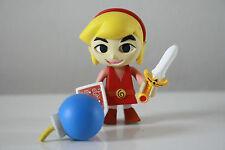 Yujin Legend of Zelda Four Swords Wind Walker Kubrick Figure Link Red Smile