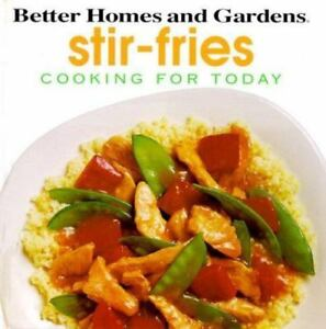 Stir-Fries Cookbook Better Homes and Gardens 1994 Hardcover