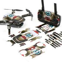 IronMan Drone Skin Wrap Stickers for DJI Mavic Mini