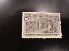 Us Stamps - #237 - Mlh - 10 cent 1893 Columbian Expo Issue - Cv $90