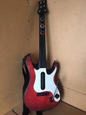 PS3 Activision Red Guitar Hero Wireless Controller Rock Band