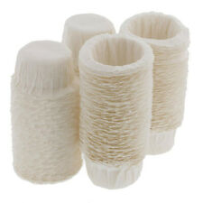 100pcs Home Kitchen Disposable Paper Filters Cups Replacement Coffee Filters Top