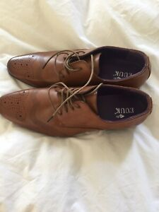 NEW BROWN SHOES SIZE 10