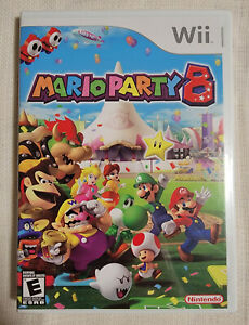 Mario Party 8 (Nintendo Wii, 2007) Brand New & FACTORY SEALED!