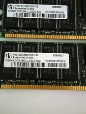 HP PC2100 266Mhz ECC DDR 1GB Memory 261585-041 (1 pair, total 2G)