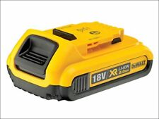 2x DEWALT Dcb183 XR 18 Volt Li-ion 2.0 Ah Battery