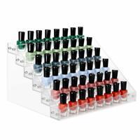 3/4/5/6 Tiers Acrylic Nail Polish Stand Display Rack Lipstick Cosmetic Holder
