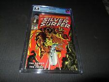 Silver Surfer 3 CGC 5.5, 1st Mephisto (Marvel 1968)