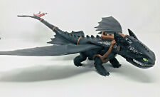Large Toothless Nightfury How To Train Your Dragon Light Up Toy Figure 2013