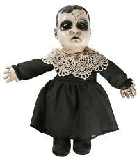 Halloween LITTLE PRECIOUS WITH SOUND HORROR DOLL Prop Haunted House NEW