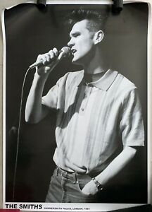 The Smiths Morrissey Hammersmith Palais 1984 Live Picture Poster