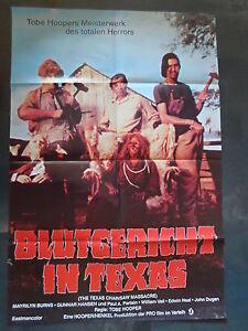 BLUTGERICHT IN TEXAS - Filmplakat A1 - Tobe Hooper - Texas Chainsaw Massacre