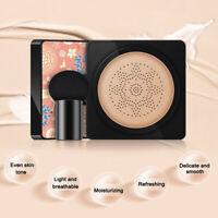 Air Cushion BB Cream Waterproof Brighten Concealer Foundation+Mushroom Sponge HQ
