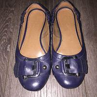 Dunkel-blaue Ballerina von GRACELAND, Gr. 37, bequem gepolstert!