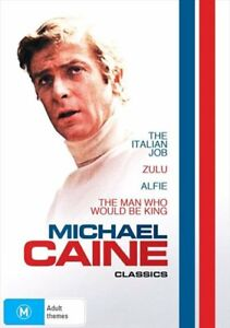 Alfie / The Italian Job / The Man Who Would Be King / Zulu   Michael Caine Co...