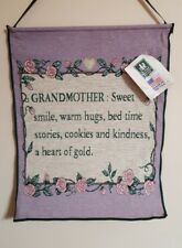 Grandmother Tapestry Wall Hanging NEW