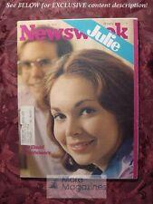 NEWSWEEK October 14 1974 Oct 76 10/74 BETTY FORD BREAST CANCER JULIE EISENHOWER