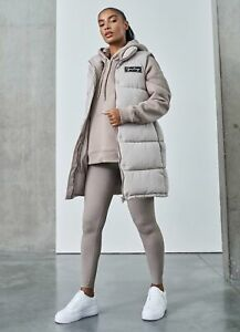 Gym King Womens Quilted Gilet - Champagne