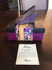 Just The Right Shoe Raine 1942 Golden Leaf Shoe W/Box & Coa #33