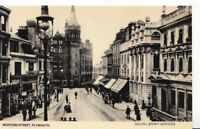 Devon Postcard - Bedford Street - Plymouth - Ref 4213A