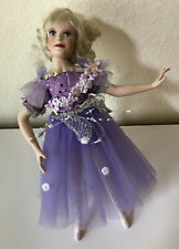 """Paradise Galleries SUGAR PLUM FAIRY by Patricia Rose - Treasury Collection 13"""""""