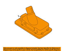 HYUNDAI OEM 11-16 Elantra License Plate Light-Lamp Right 925021M400
