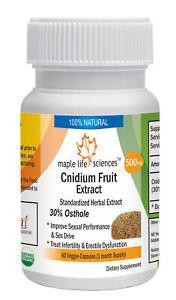 Cnidium Fruit Extract Capsules Cnidium Monnieri L. 30% Osthole For Sexual Health