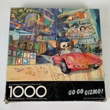 Springbok Go Go Gizmo! Jigsaw Puzzle 1000 Pieces Gremlins Movie Vintage 1984