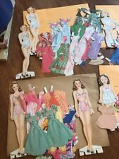 Huge Lot Of Polly Peggy Patty Sally Susan And Other Paper Dolls