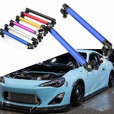 2pcs Universal 100mm Adjustable Front Rear Bumper Lip Splitter Rod Support