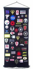 """Patch Holder Board Display Wall Door Hanging Display Frame 16.5 X 47 """""""
