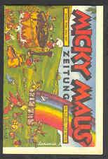 Micky Maus Zeitung Nr. 5 /1937  Top                ND-232
