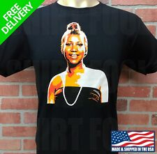 ARETHA FRANKLIN QUEEN OF SOUL CUSTOM DESIGN T-SHIRT