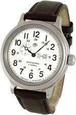 Russische Fliegeruhr Armbanduhr VOSTOK K-43 RETRO KIROVA NEU! Weiße Dial