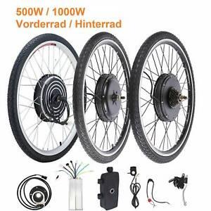 26 Zoll Ebike Elektro-Fahrrad Bike Motor Steurung Hinterrad Vorderrad 500/1000W