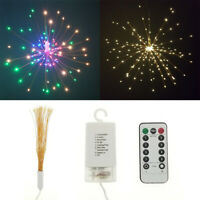Firework Holiday Light Starburst Light LED Home Decor Lamp Fairy String Light