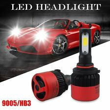 AUXITO 2x HB3 9005 16000LM High Beam Headlight White LED Bulbs 6500K Head Lights