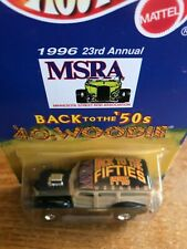Limited Edition Hot Wheels 40s Woodie MSRA 23rd Annual Hot Rod Conv. /10,000 MOC