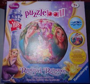 puzzle ball 3D Raiponce Rapunzel Disney