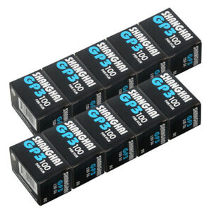 10 Rolls Shanghai Black & White GP3 135 35mm 36EXP ISO 100 B&W B/W Film Auto DX
