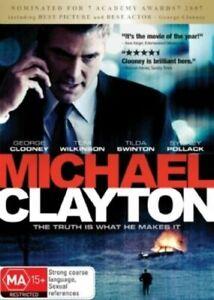 Michael Clayton DVD - R4 - Tilda Swinton - George Clooney