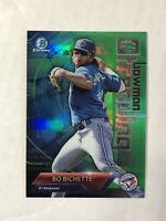 BO BICHETTE 2018 Bowman Chrome Trending GREEN SP RC 96/99 REFRACTOR! BLUE JAYS!