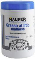 GRASSO AL LITIO UNIVERSALE  PROFESSIONALE LUBRIFICA PROTEGGE MAURER 1 KG