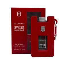 Victorinox Swiss Unlimited Eau de Toilette Refillable Spray for Men - 75ml/2.5oz