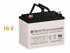 Best Power FERRUPS FE 10KVA Replacement Battery Set By SigmasTek - 12V 35AH