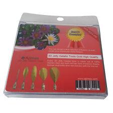 High Quality 3D Jelly Gelatin Tools Art Flowers Tools Nenuphar (5pcs/Set #6)