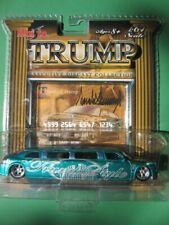 Maisto DONALD TRUMP 1:64 Chrysler 300C HEMI Blue LIMOUSINE diecast MIP 2006