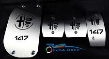 alfa romeo 147 pedali pedana poggiapiede pedaliera kit sportivo tuning auto