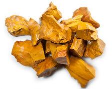 3 lbs Wholesale Yellow Jasper Rough Stones - Tumbling Tumbler Rocks, Reiki, Wicc